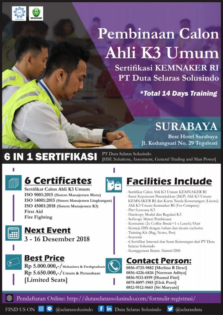 AK3U Surabaya 2018