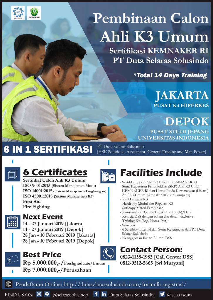 AK3U Jakarta Depok 2019