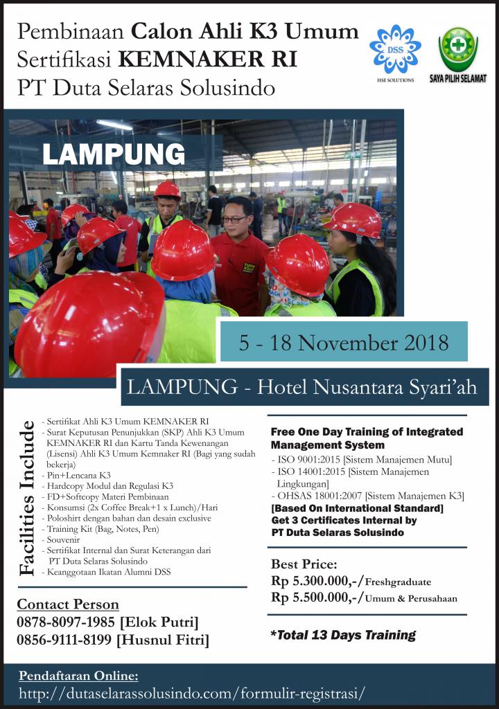 AK3U Lampung 2018