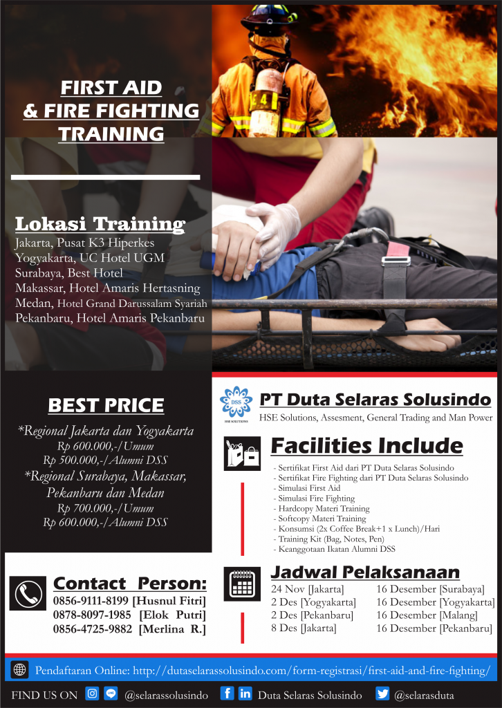 Fire Fighting & First Aid